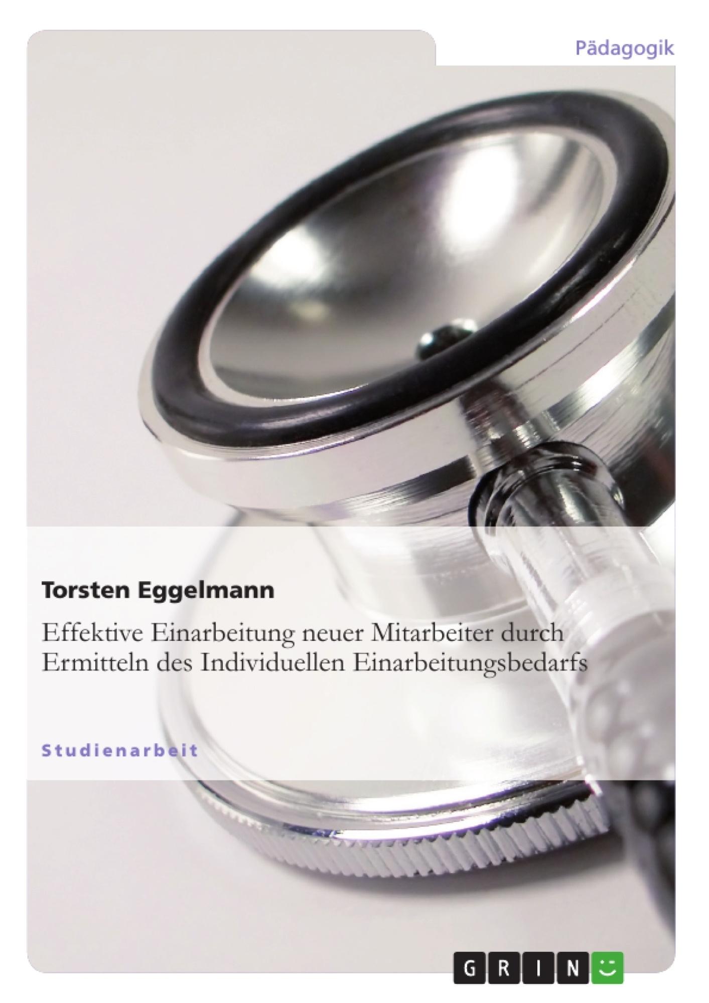 Effektive Einarbeitung neuer Mitarbeiter durch   Hausarbeiten.de ...