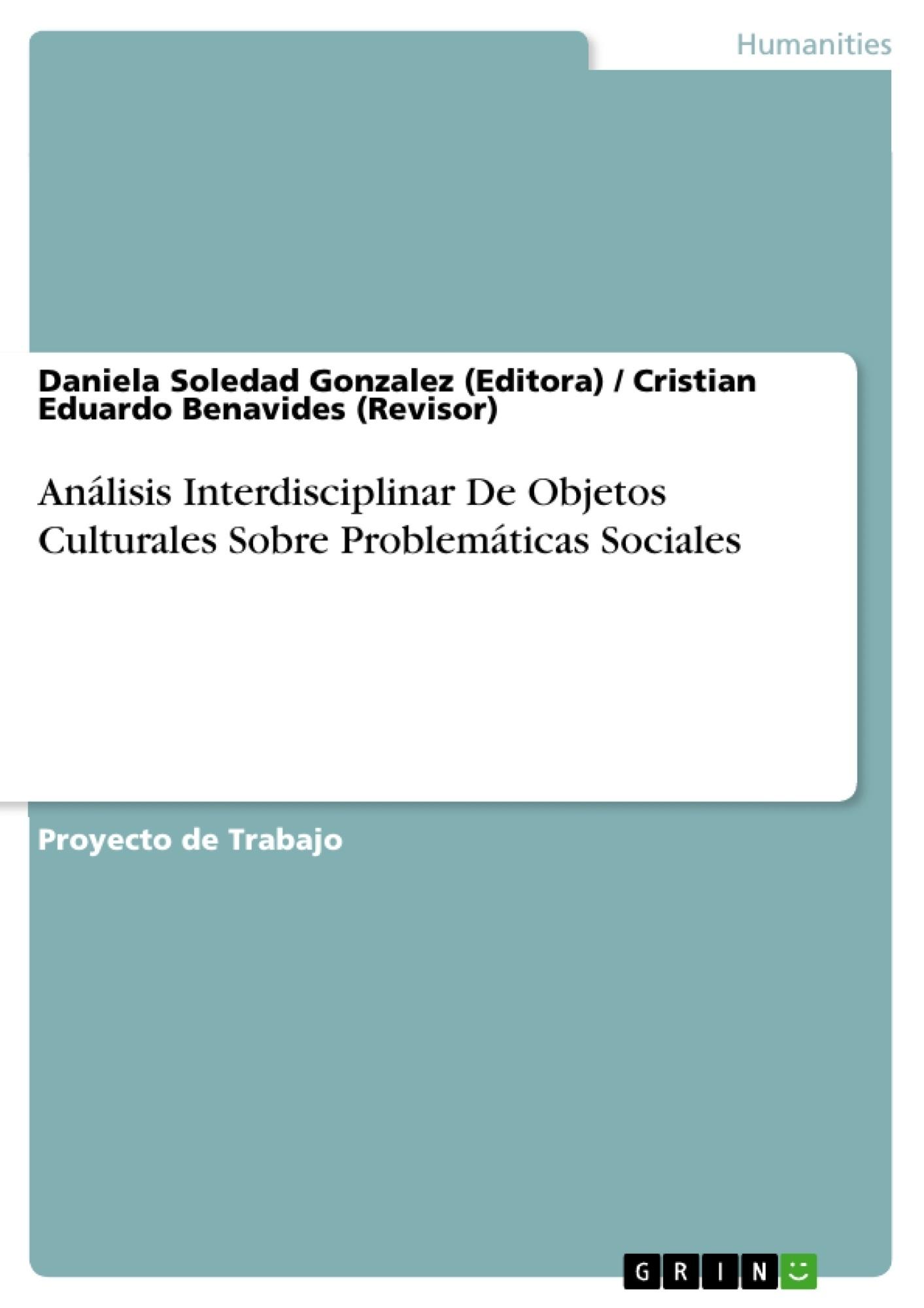 b0b7cbdbc Análisis Interdisciplinar De Objetos Culturales Sobre ...
