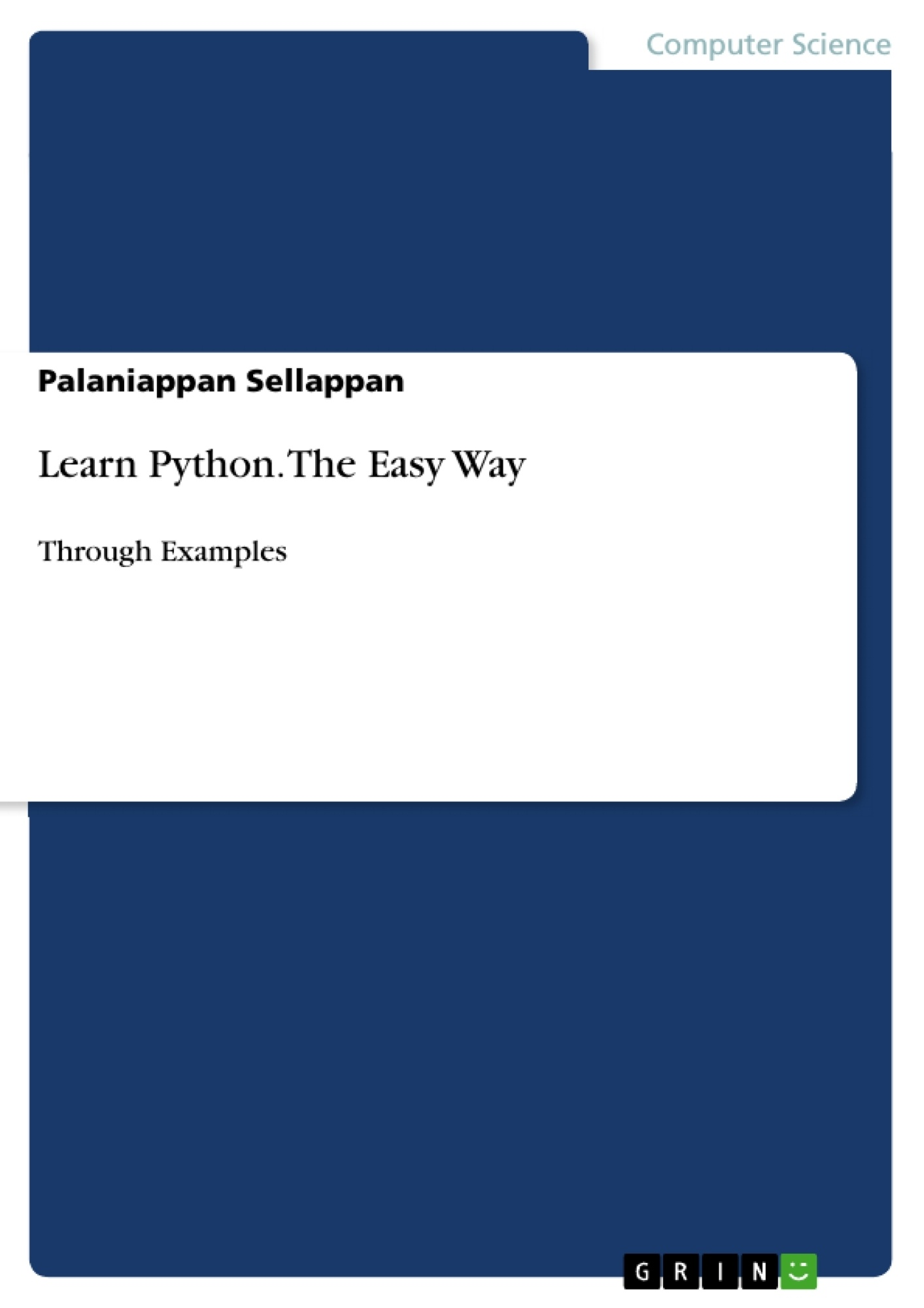 GRIN - Learn Python  The Easy Way