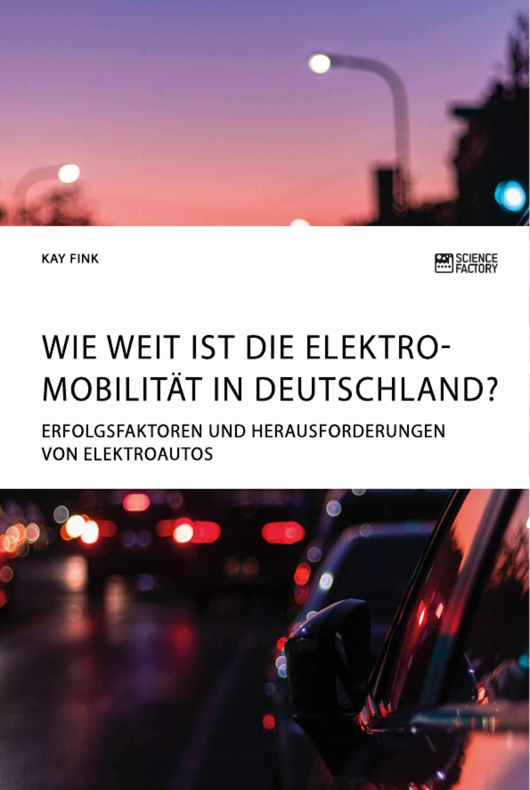 Titel: Wie weit ist die Elektromobilität in Deutschland? Erfolgsfaktoren und Herausforderungen von Elektroautos