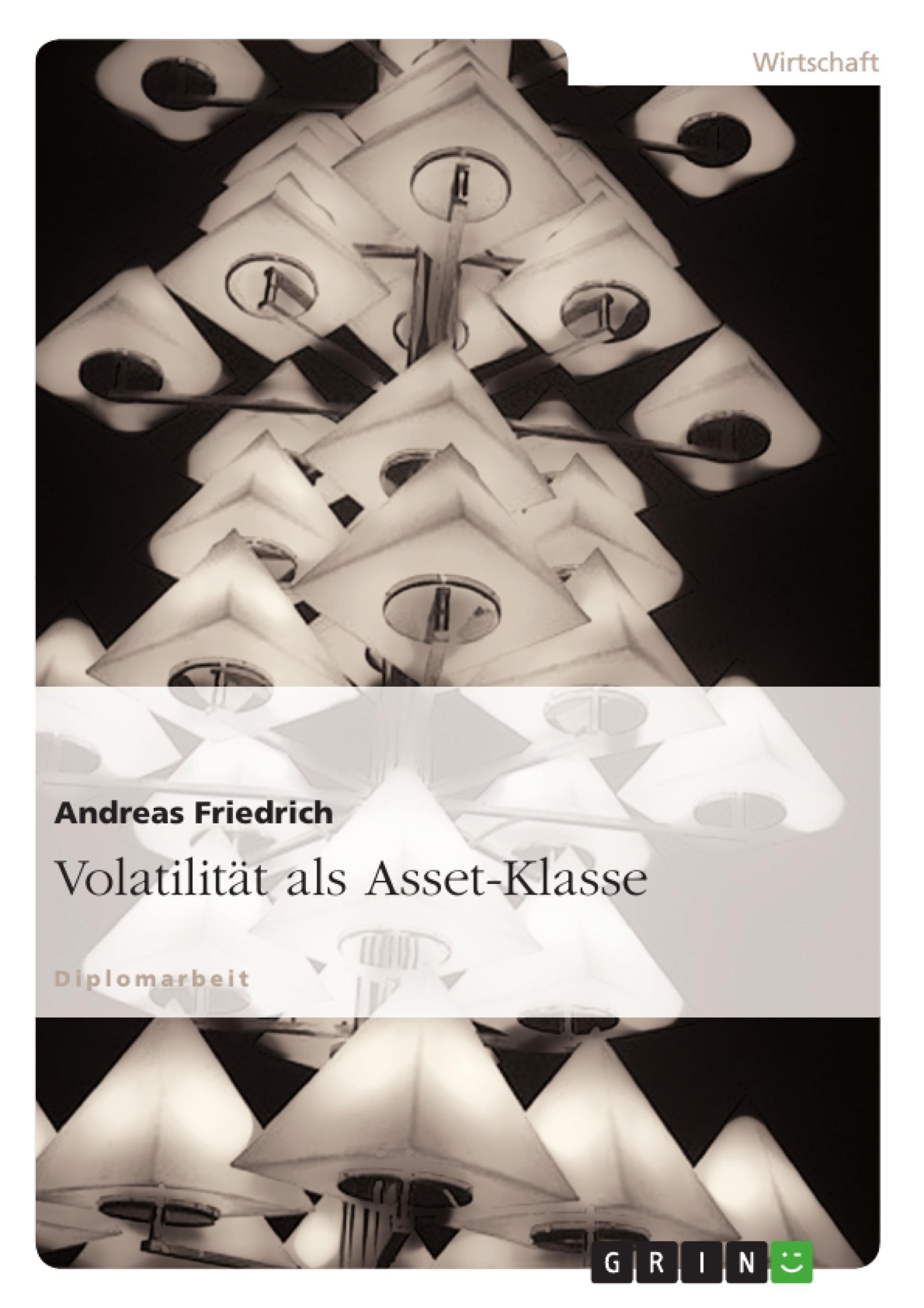 Titel: Volatilität als Asset-Klasse