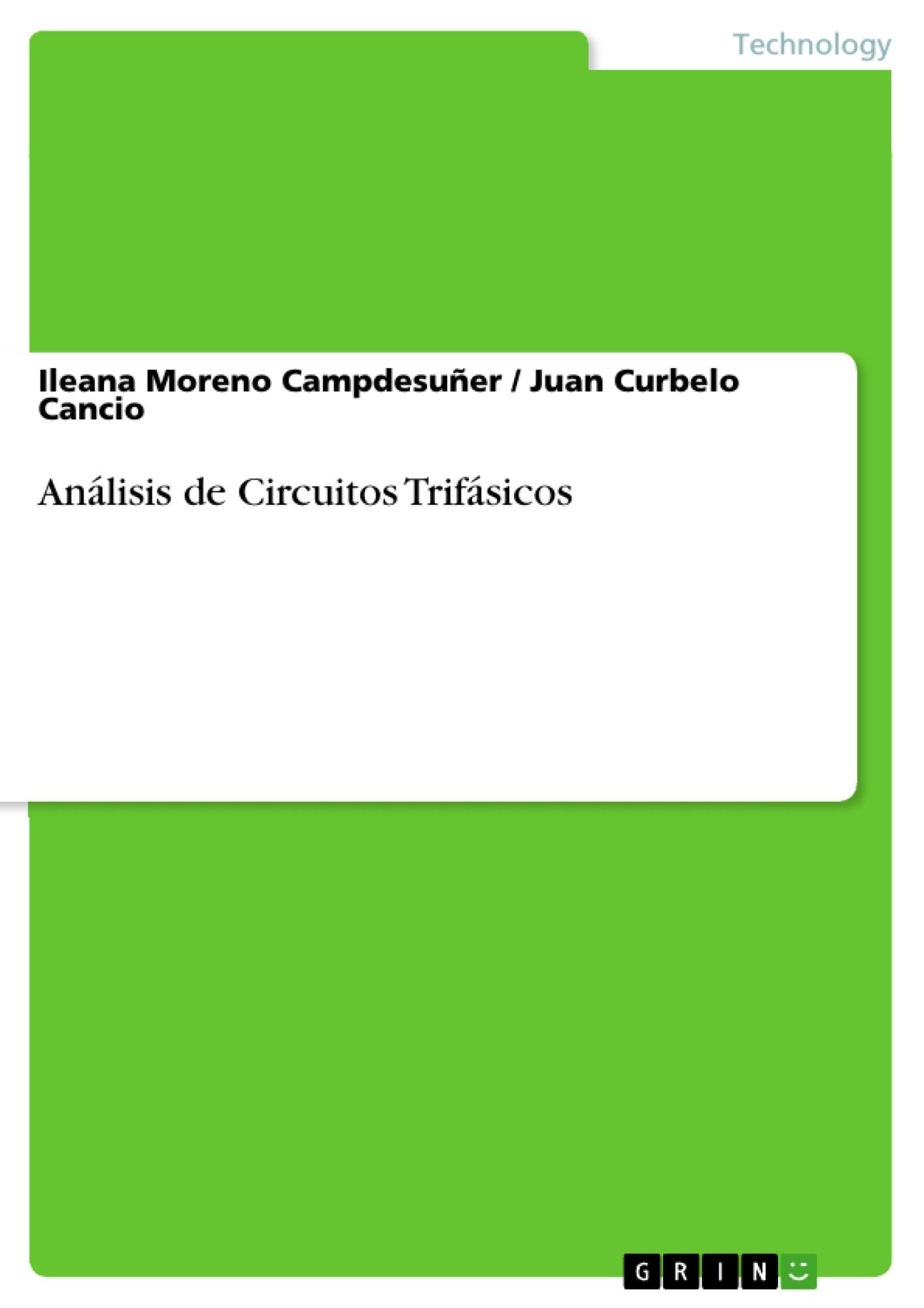 Título: Análisis de Circuitos Trifásicos