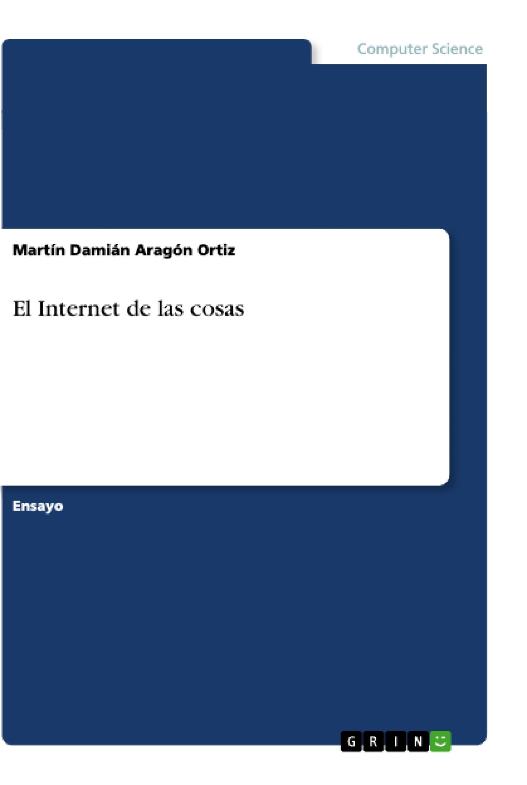 Título: El Internet de las cosas