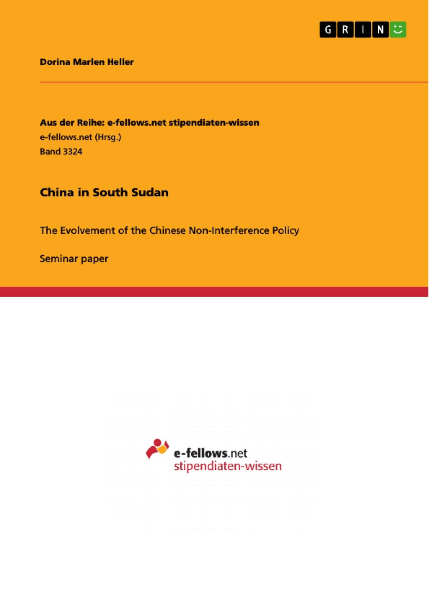 Title: China in South Sudan