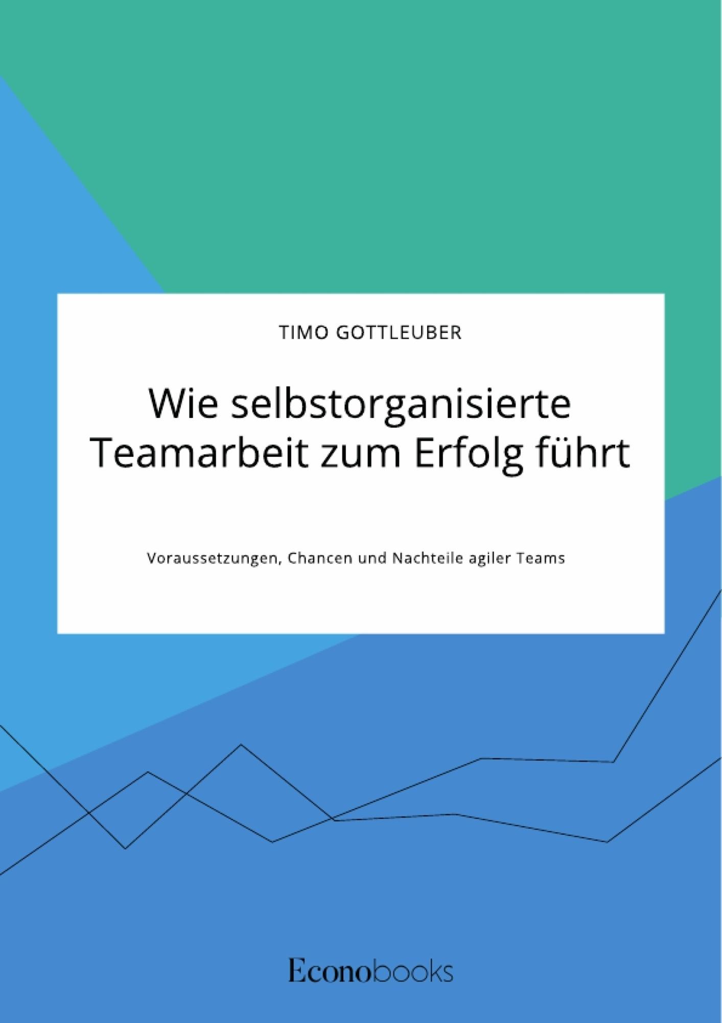 Titel: Wie selbstorganisierte Teamarbeit zum Erfolg führt. Voraussetzungen, Chancen und Nachteile agiler Teams
