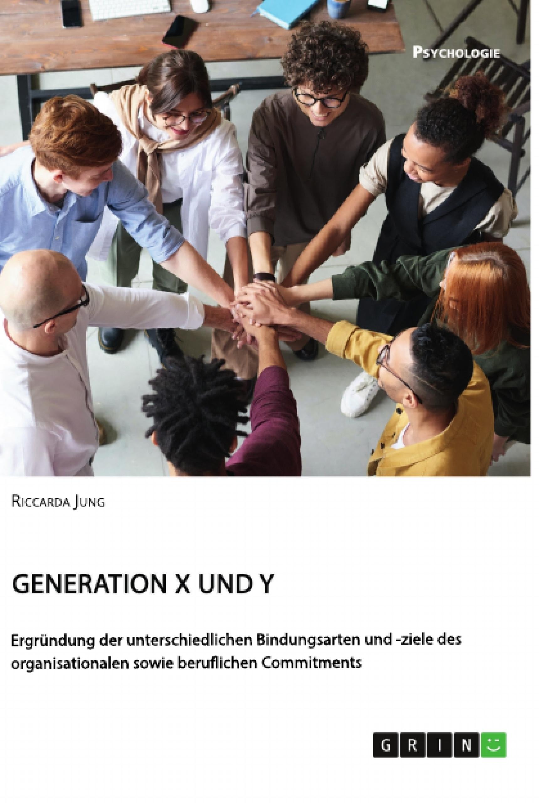 Titel: Generationen X und Y