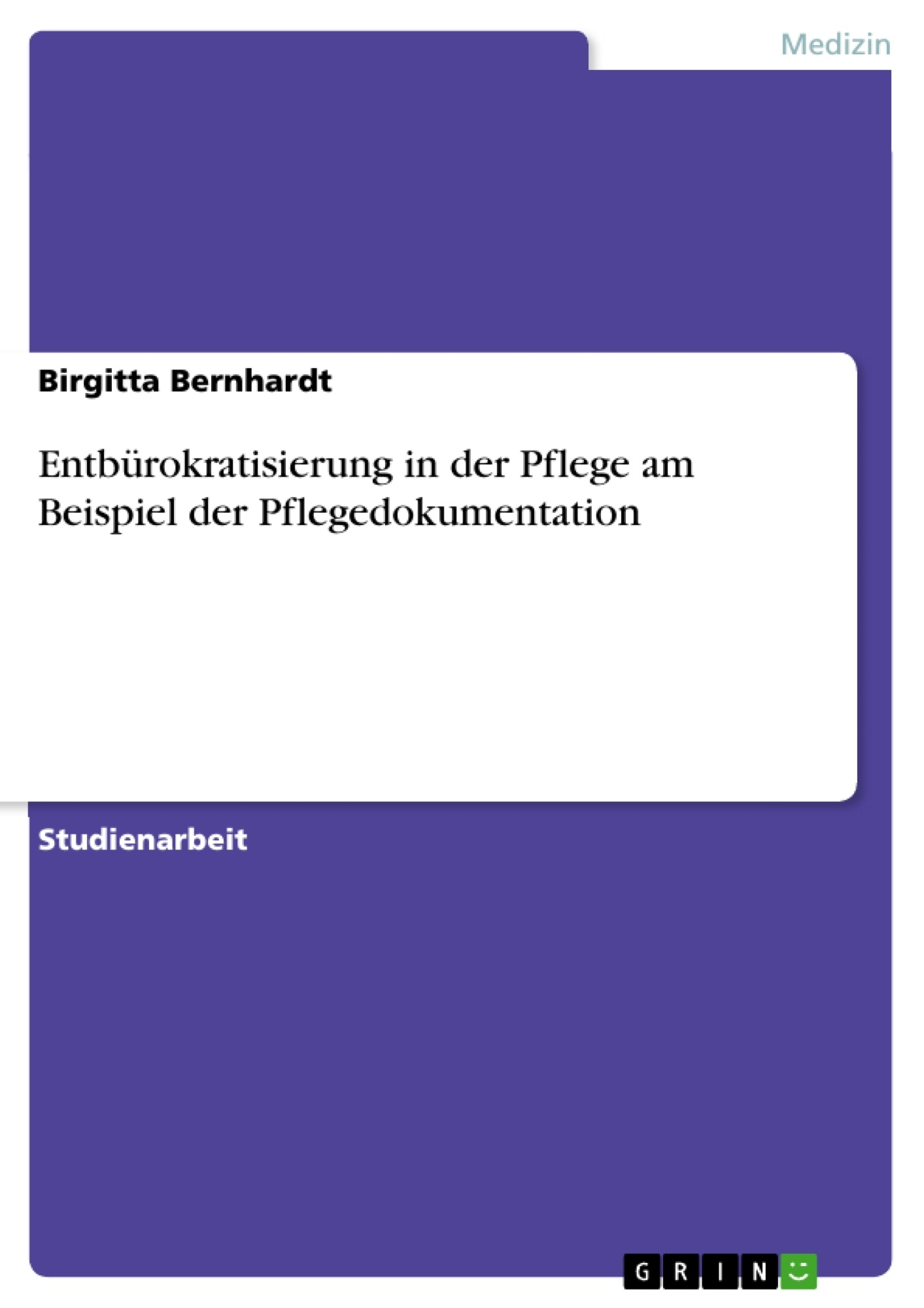 disposition einer bachelorarbeit