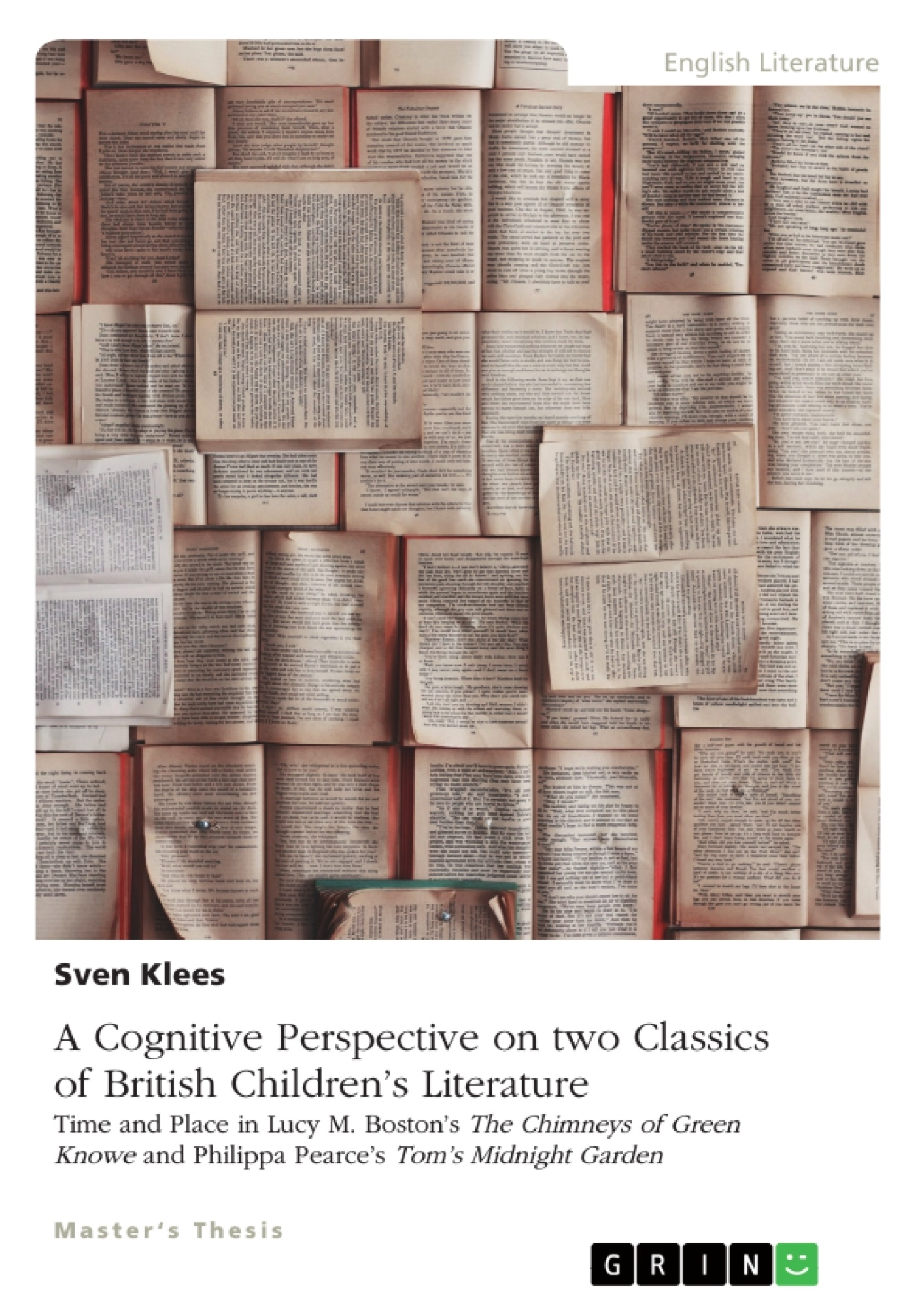 Title: A Cognitive Perspective on two Classics of British Children's Literature