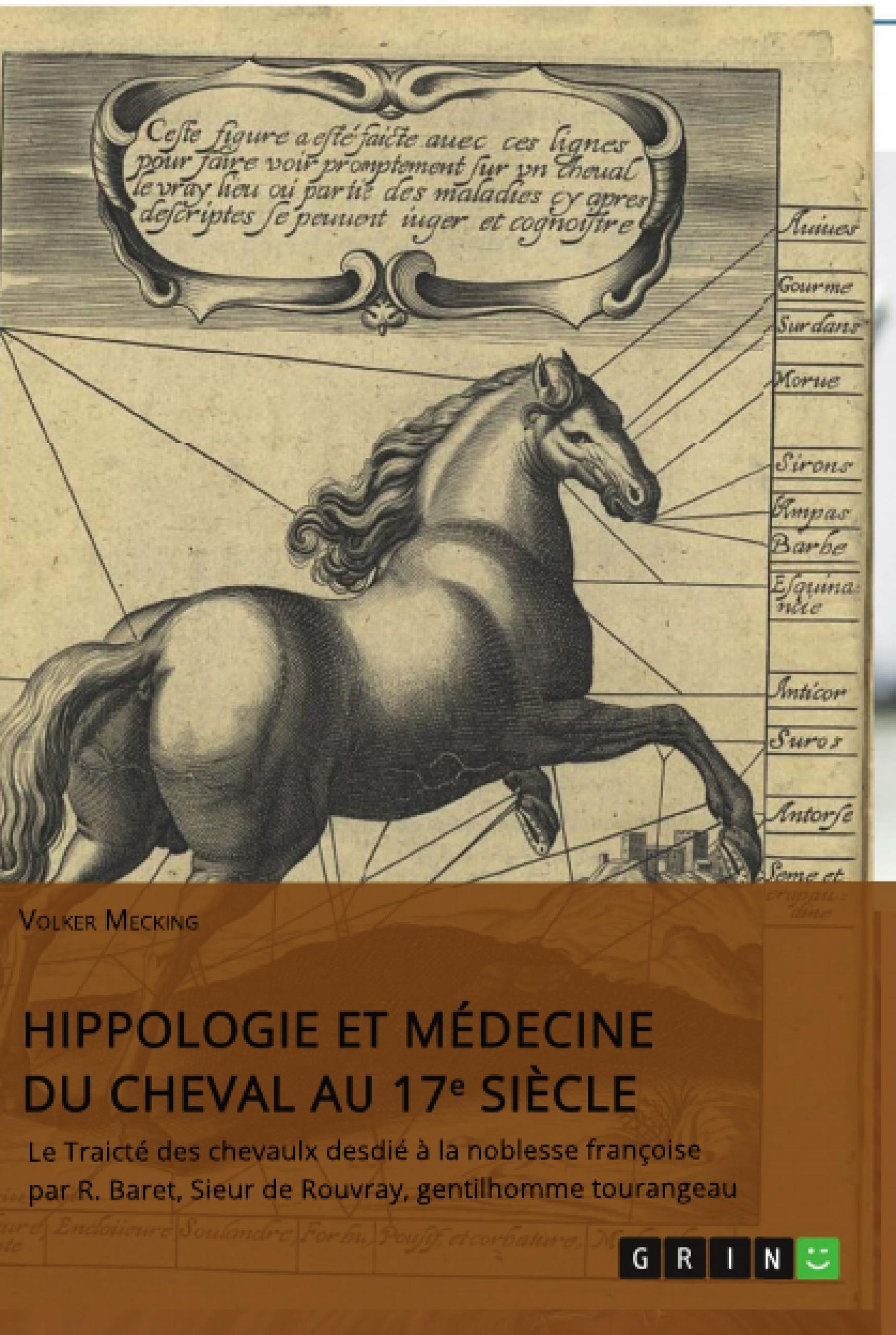 Titre: Hippologie et médecine du cheval au 17e siècle