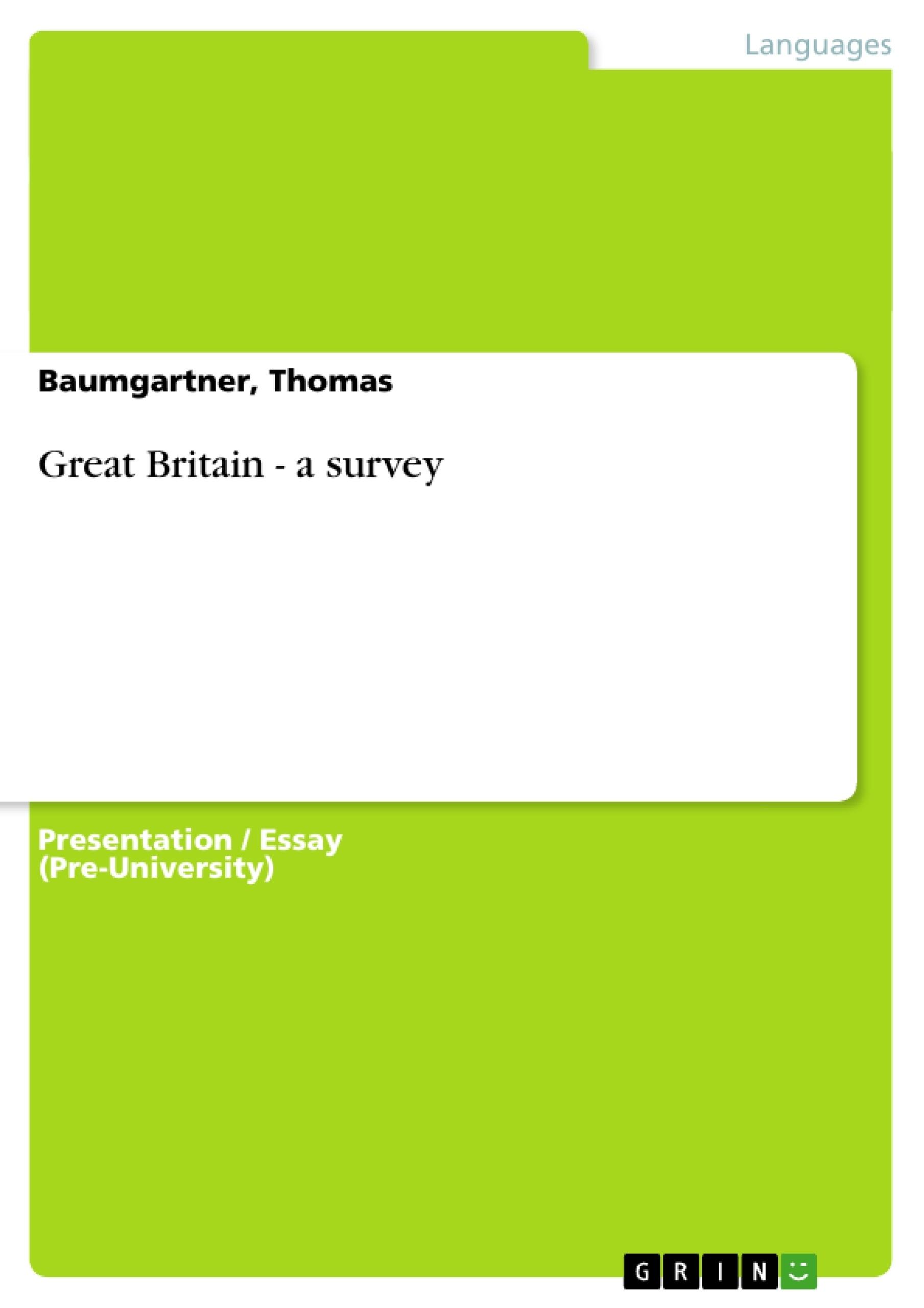 Title: Great Britain - a survey