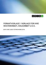 Hausarbeit namen anonymisieren expose bachelor thesis beispiel