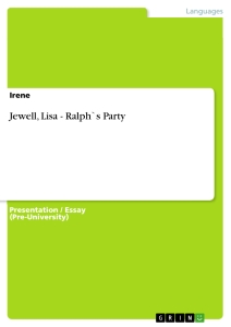 Title: Jewell, Lisa - Ralph`s Party
