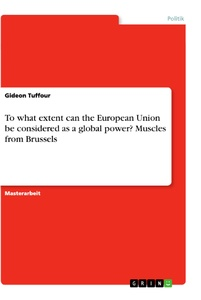 Titel: To what extent can the European Union be considered as a global power? Muscles from Brussels