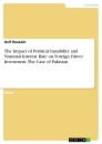 Title: The Impact of Political Instability and Nominal Interest Rate on Foreign Direct Investment. The Case of Pakistan