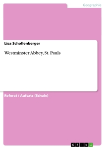 Title: Westminster Abbey, St. Pauls
