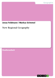 Title: New Regional Geography