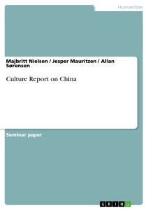 Title: Culture Report on China