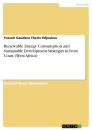 Title: Renewable Energy Consumption and Sustainable Development Strategies in Ivory Coast (West Africa)