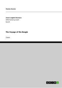 Title: The Voyage of the Beagle