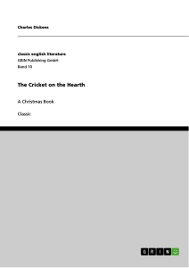Title: The Cricket on the Hearth