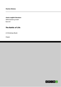 Title: The Battle of Life