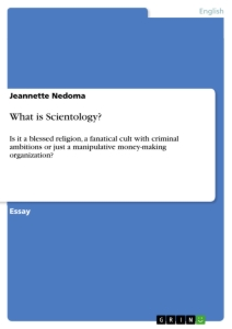 Titel: What is Scientology?
