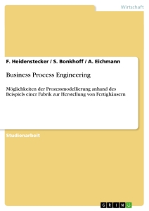 Titel: Business Process Engineering