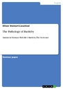 Titel: The Pathology of Bartleby