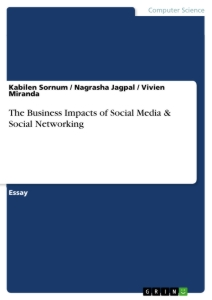 Titel: The Business Impacts of Social Media & Social Networking