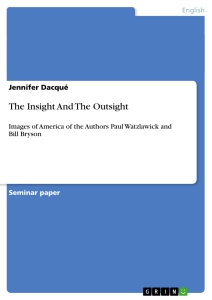 Titel: The Insight And The Outsight