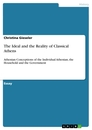 Titel: The Ideal and the Reality of Classical Athens