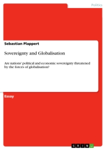 Titel: Sovereignty and Globalisation