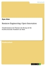 Title: Business Engineering: Open Innovation