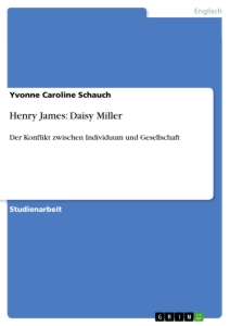 Title: Henry James: Daisy Miller
