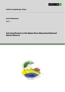 Titel: Soil classification in the Naban River Watershed National Nature Reserve