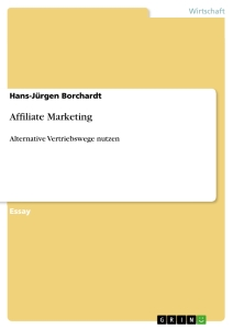 Titel: Affiliate Marketing