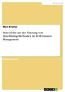 Title: State-of-the-Art der Nutzung von Data-Mining-Methoden im Performance Management