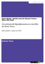Title: Occurençia de hiperglicaemia no concelho do Porto Novo