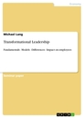 Titel: Transformational Leadership