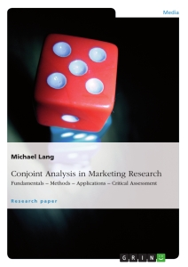 Titel: Conjoint Analysis in Marketing Research