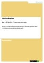 Titel: Social Media Communication