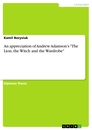 """Title: An appreciation of Andrew Adamson's """"The Lion, the Witch and the Wardrobe"""""""