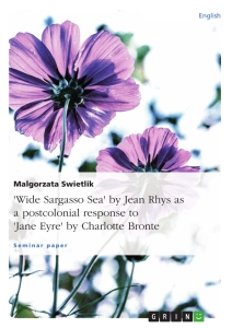 Wide Sargasso Sea By Jean Rhys As A Postcolonial Response To  Wide Sargasso Sea By Jean Rhys As A Postcolonial Response To Jane Eyre  By Charlotte Bronte