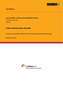Title: Trade and Economic Growth