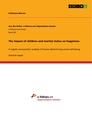 Title: The impact of children and marital status on happiness