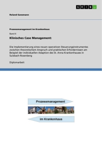 Titel: Klinisches Case Management: