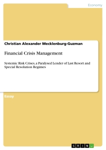 Title: Financial Crisis Management
