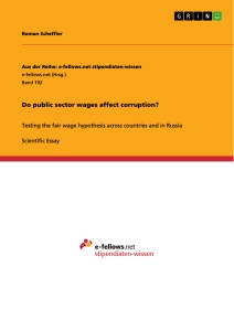 Title: Do public sector wages affect corruption?