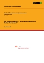 """Title: Der Dispositionseffekt - """"Are Investors Reluctant to Realize Their Losses?"""""""