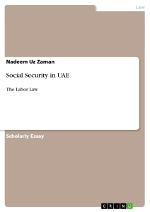 Title: Social Security in UAE